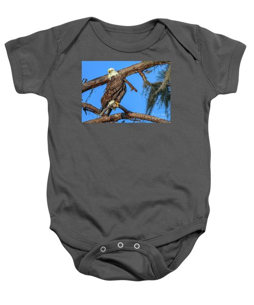 Lookout Eagle Baby Onesie