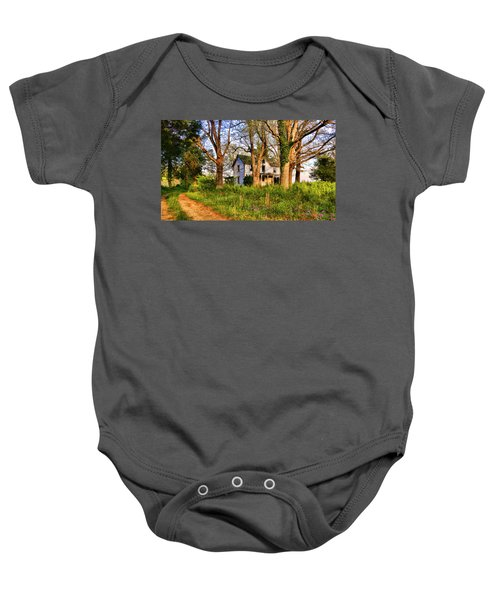 Lost And Abandoned  Baby Onesie
