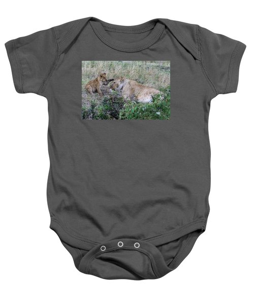 'love You Mom' Baby Onesie