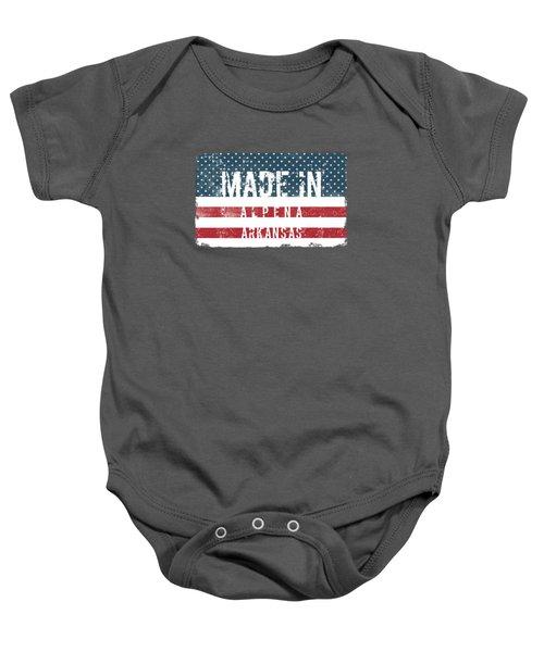 Made In Alpena, Arkansas Baby Onesie