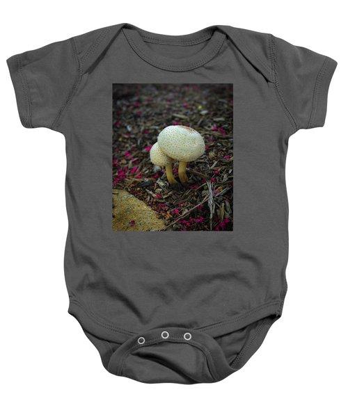 Magical Mushrooms Baby Onesie