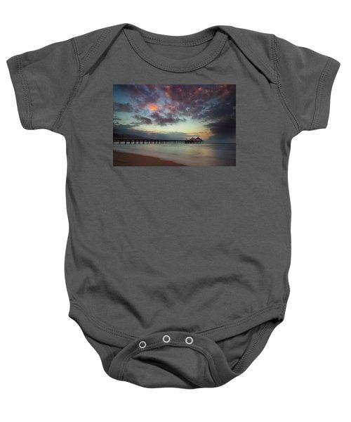 Malibu Pier IIi Baby Onesie