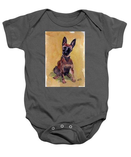Malinois Pup Baby Onesie
