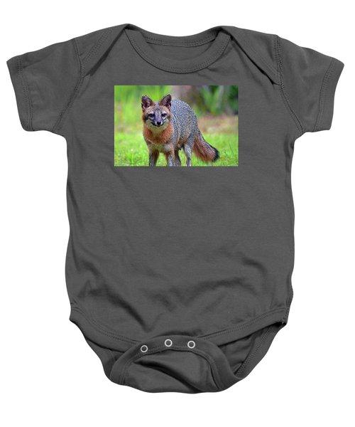 Mama Fox Baby Onesie