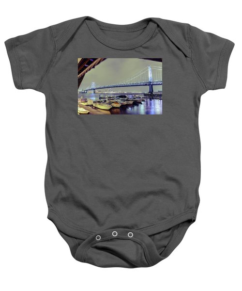 Marina Lights Baby Onesie