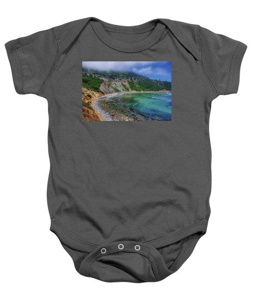 Marine Layer Over Bluff Cove Baby Onesie