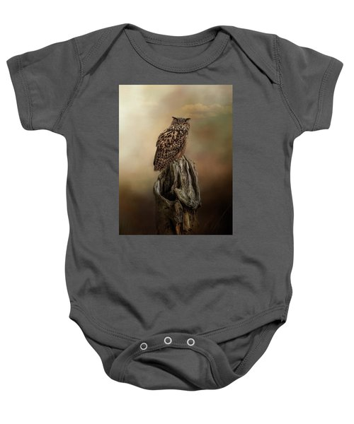 Master Of The Forest Baby Onesie