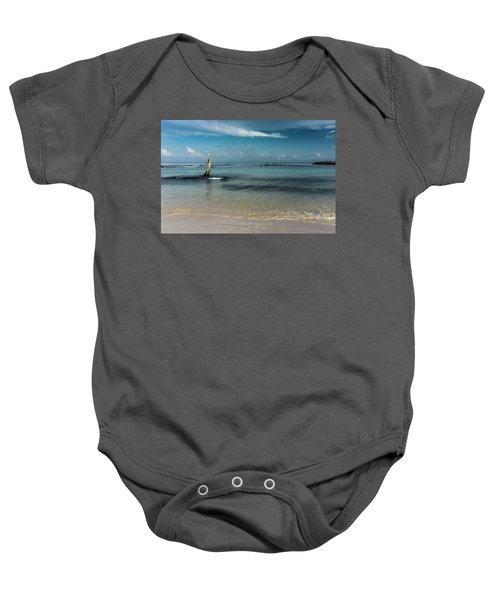 Mayan Shore 3 Baby Onesie