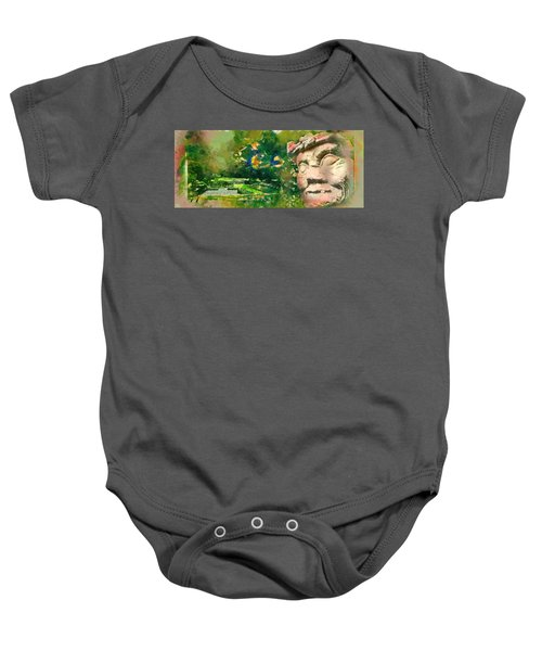 Mayan World Baby Onesie