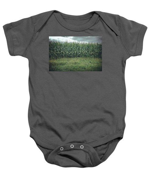Maze Field Baby Onesie