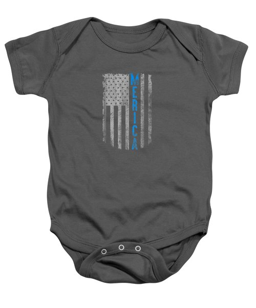 'merica American Flag Vintage Men Women Gift 2018 T-shirt Baby Onesie