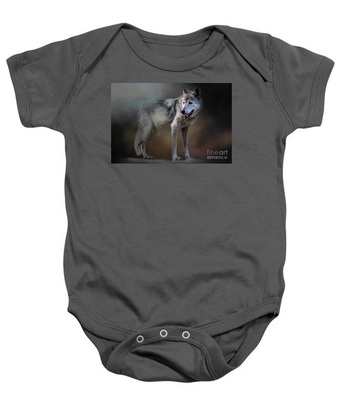 Mexican Wolf Baby Onesie
