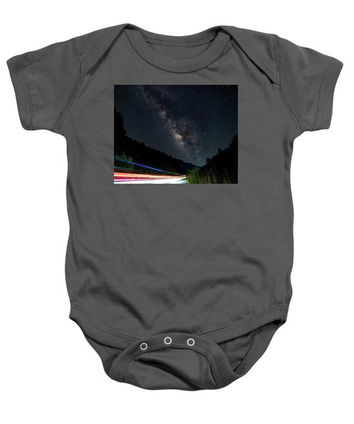 Milky Way Over The South Road Baby Onesie