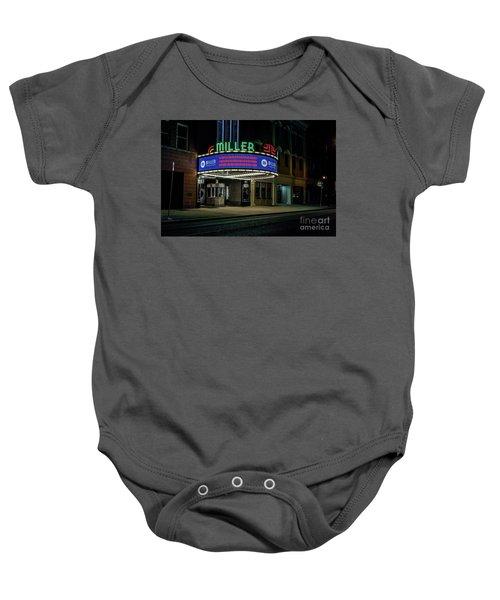 Miller Theater Augusta Ga Baby Onesie