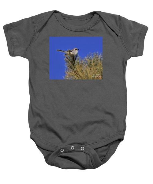 Mockingbird In White Pine Baby Onesie