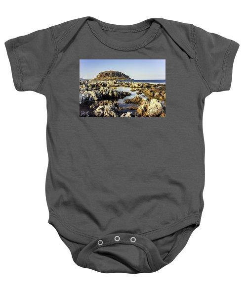 Monemvasia Rock Baby Onesie