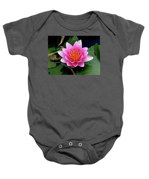 Monet Water Lilly Baby Onesie