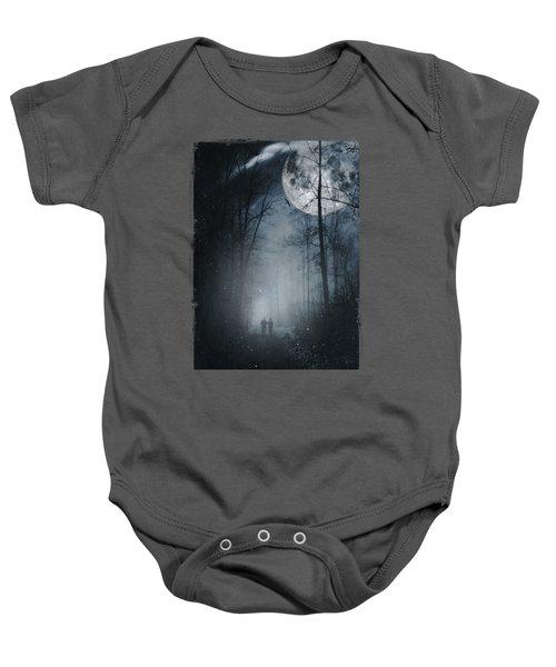 Moon Walkers Baby Onesie