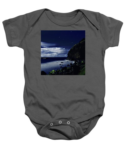 Moonlight At Argyle Baby Onesie