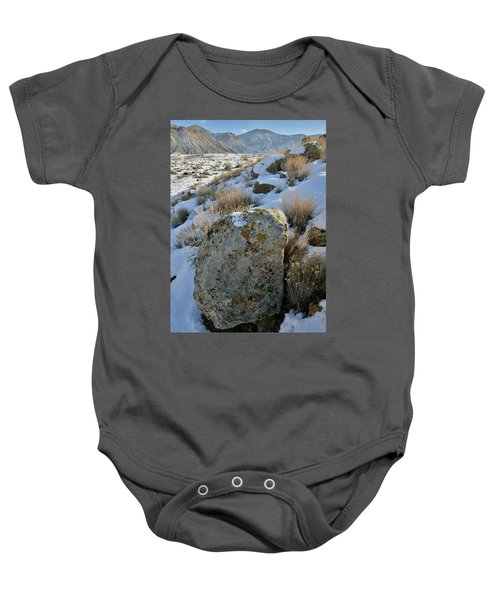 Morning At The Book Cliffs Baby Onesie