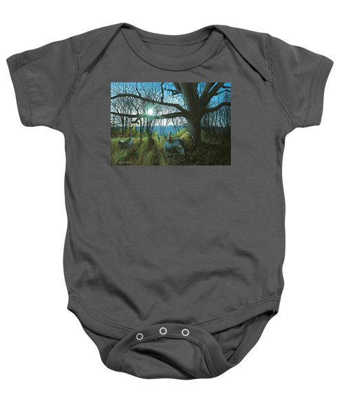 Morning Chat - Turkey Baby Onesie