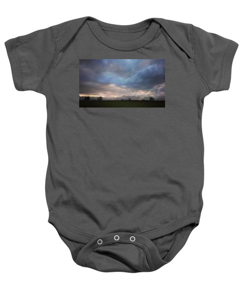 Morning Clouds Baby Onesie