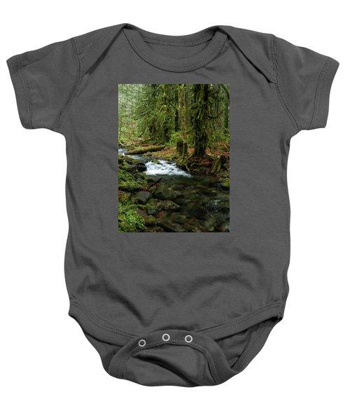 Mossy Cascade Baby Onesie