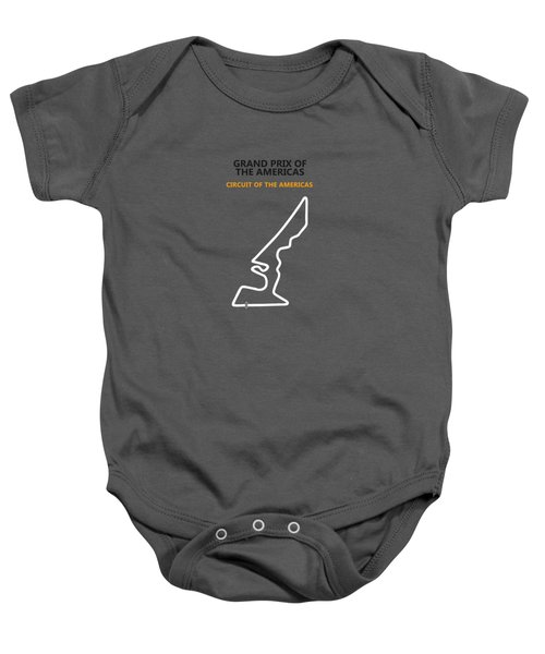 Moto Gp Of The Americas Baby Onesie