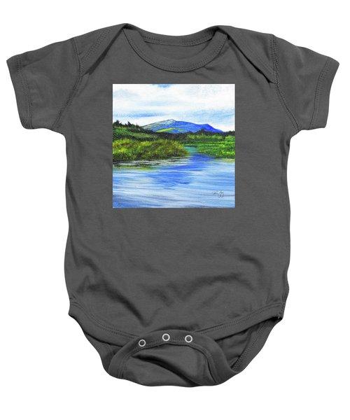 Mt. Monandnock From Scott Brook Baby Onesie