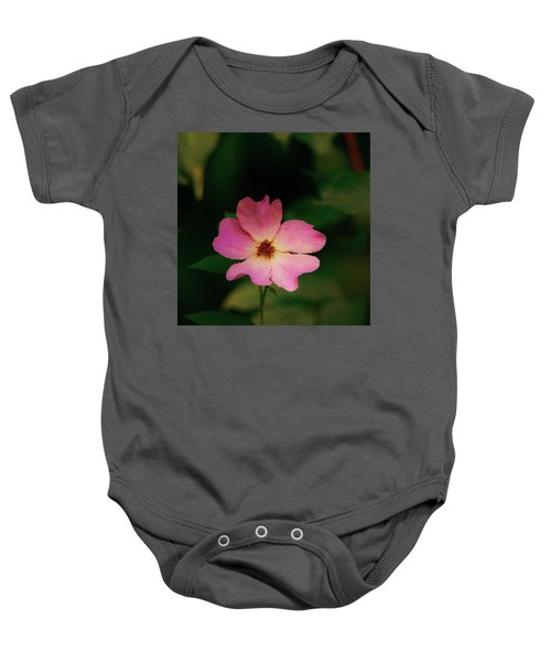 Multi Floral Rose Flower Baby Onesie