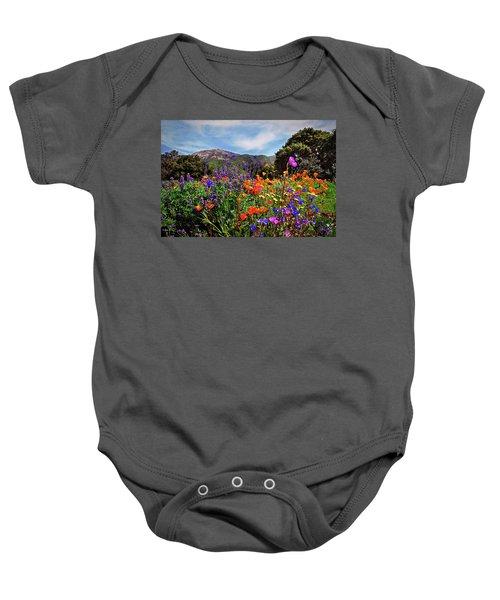 Nature's Bouquet  Baby Onesie
