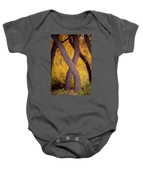 Nature's Font Baby Onesie