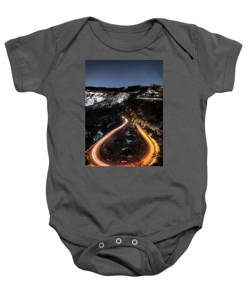 Night At Rowena Crest Baby Onesie