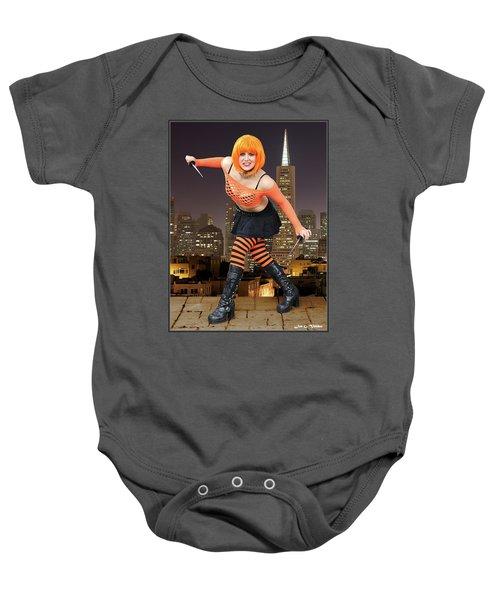 Night Of The Clockwork Orange Baby Onesie