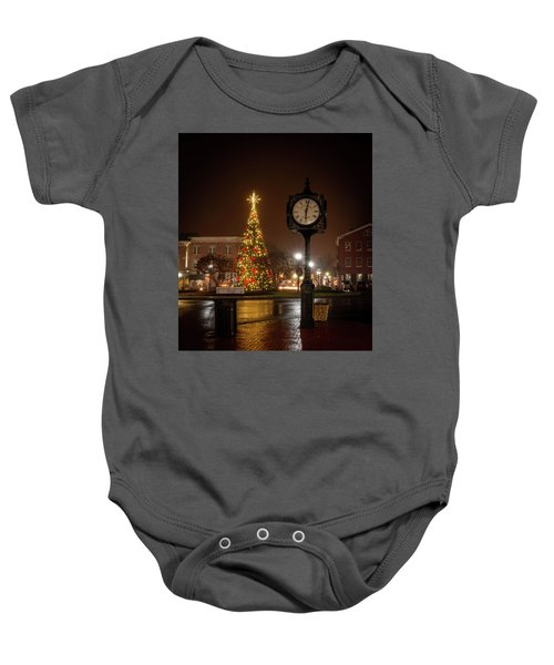 Night On The Square Baby Onesie