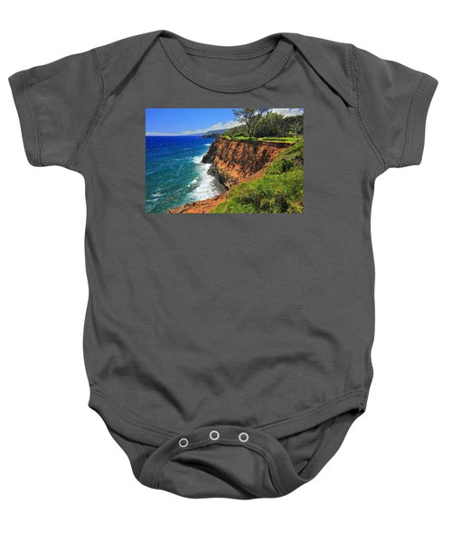 North Hawaii View Baby Onesie
