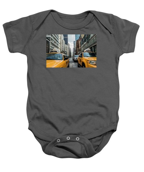 Ny Taxis Baby Onesie