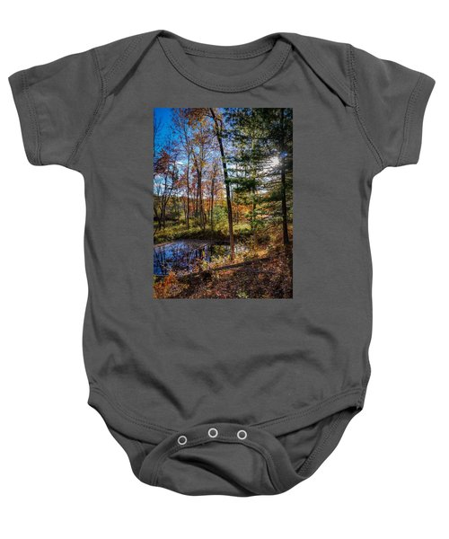 October Late Afternoon Baby Onesie