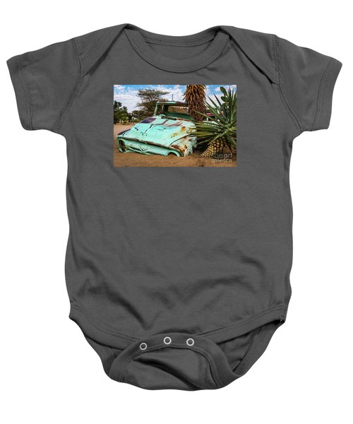 Old And Abandoned Car 2 In Solitaire, Namibia Baby Onesie