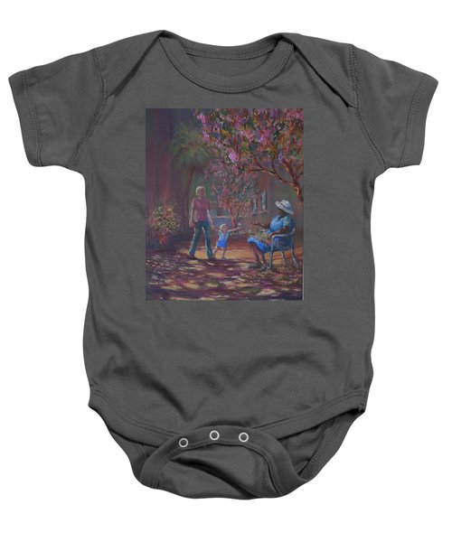 Old Friends Baby Onesie