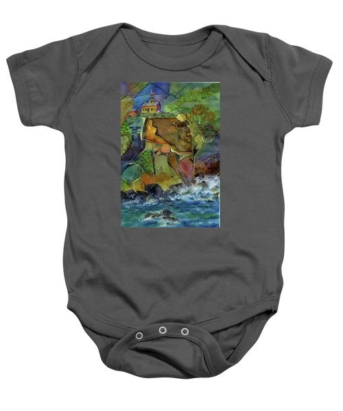Old Point Loma Lighthouse Baby Onesie
