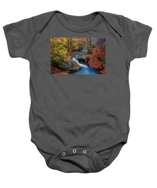 Old River Baby Onesie