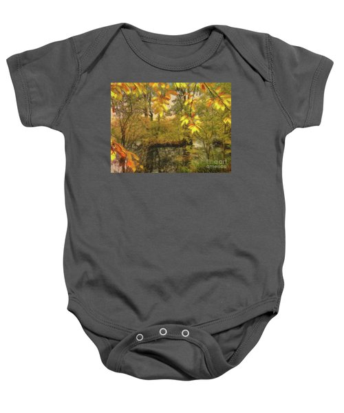 Once A Pond A Time Baby Onesie
