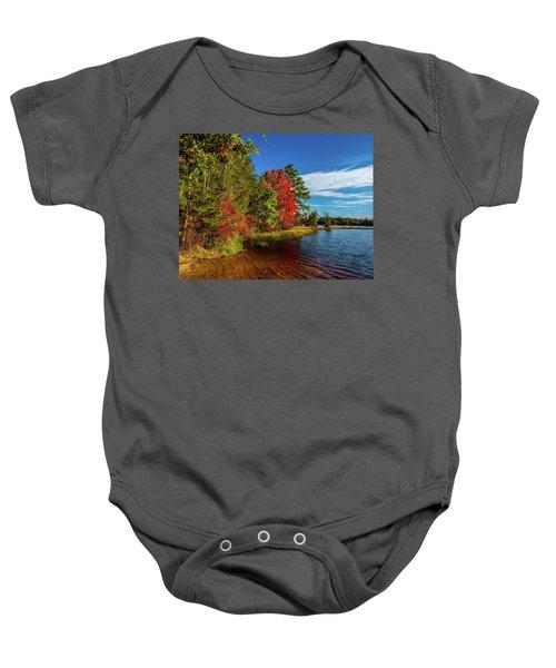 Oswego Lake Pinelands Baby Onesie