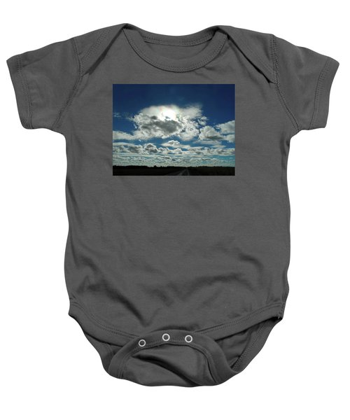 Out Of The Blue 1 Baby Onesie