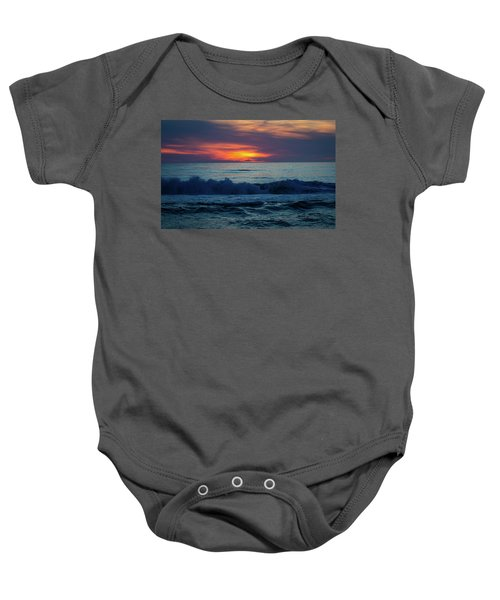 Outer Banks Sunrise Baby Onesie