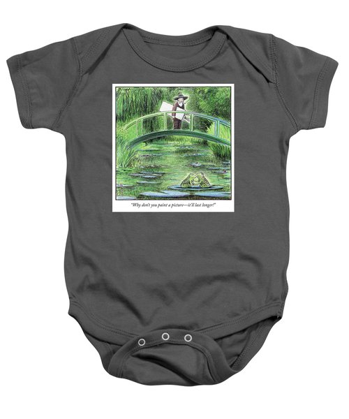 Paint A Picture Baby Onesie