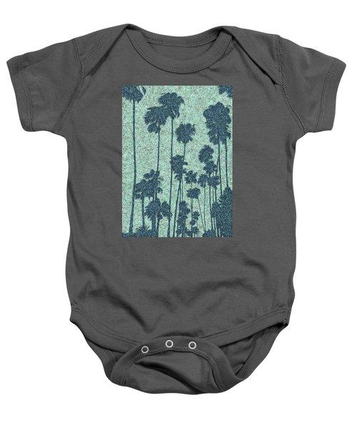 Palms Over Palisades No. 2 Baby Onesie