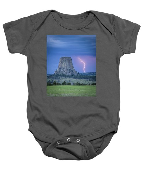 Parallel The Tower Baby Onesie