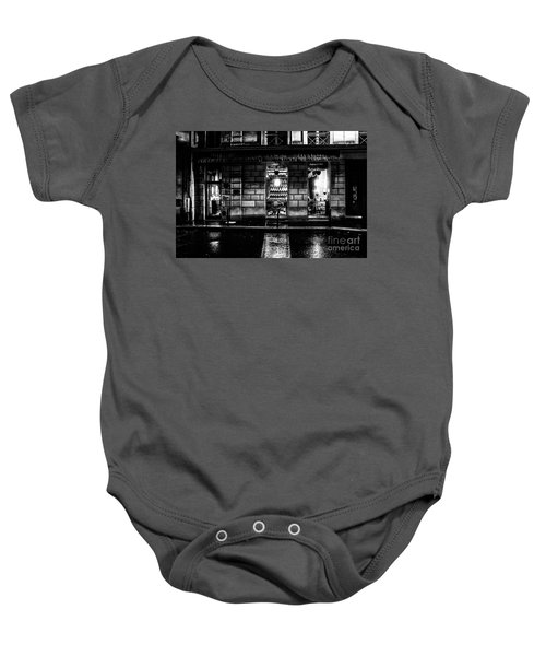 Paris At Night - Rue Bonaparte 2 Baby Onesie